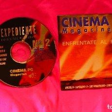 Cine: CD, DE CINEMA PC, NUMERO 12, MAGACINE. Lote 150194282