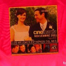 Cine: CD-ROM, NUMERO 10, NOVIEMBRE 2001.. Lote 150196590