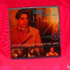 Cine: CD-ROM, NUMERO 9, OCTUBRE DEL 2001.. Lote 150196746