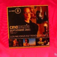 Cine: CD-ROM, NUMERO 8, SEPTIEMBRE DEL 2001.. Lote 150197290