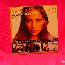Cine: CD-ROM, NUMERO 7 JULIO / AGOSTO DEL 2001.. Lote 150197426