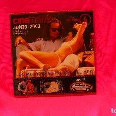 Cine: CD-ROM, NUMERO 6 JUNIO DEL 2001.. Lote 150197594