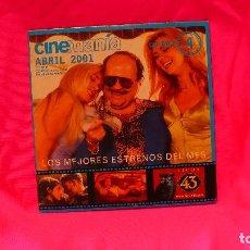 Cine: CD-ROM, NUMERO 4, ABRIL DEL 2001.. Lote 150197826
