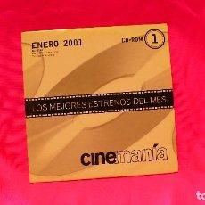 Cine: CD-ROM, NUMERO 1, ENERO DEL 2001.. Lote 150198258