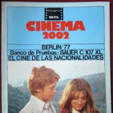 Cine: CINEMA 2002 NÚMERO 31. Lote 150225514
