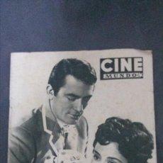 Cine: CINE MUNDO-1954-MARÍA FÉLIX-PIO BAROJA-LOLA FLORES-INDIO FERNÁNDEZ-GREGORY PECK-CLAUDETTE COLBERT . Lote 150368450