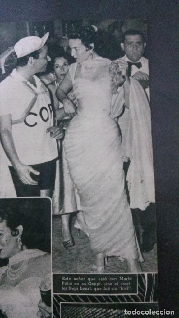Cine: CINE MUNDO-1954-MARÍA FÉLIX-PIO BAROJA-LOLA FLORES-INDIO FERNÁNDEZ-GREGORY PECK-CLAUDETTE COLBERT - Foto 4 - 150368450
