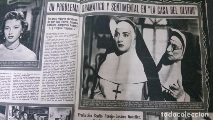 Cine: CINE MUNDO-1954-MARÍA FÉLIX-PIO BAROJA-LOLA FLORES-INDIO FERNÁNDEZ-GREGORY PECK-CLAUDETTE COLBERT - Foto 6 - 150368450
