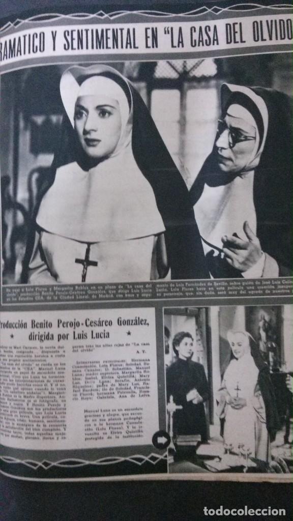 Cine: CINE MUNDO-1954-MARÍA FÉLIX-PIO BAROJA-LOLA FLORES-INDIO FERNÁNDEZ-GREGORY PECK-CLAUDETTE COLBERT - Foto 7 - 150368450