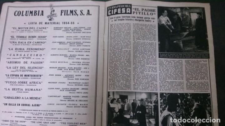 Cine: CINE MUNDO-1954-MARÍA FÉLIX-PIO BAROJA-LOLA FLORES-INDIO FERNÁNDEZ-GREGORY PECK-CLAUDETTE COLBERT - Foto 8 - 150368450