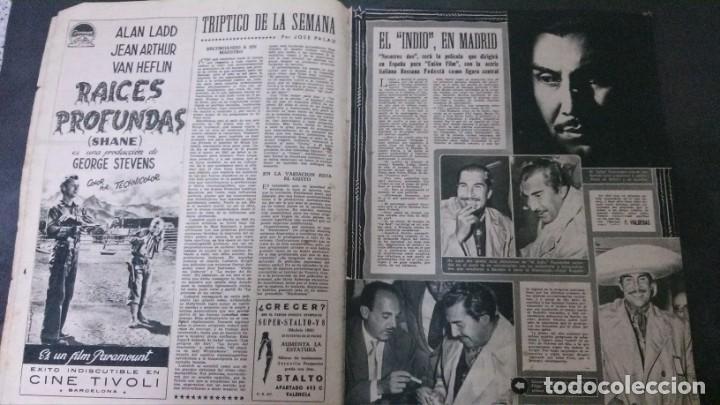 Cine: CINE MUNDO-1954-MARÍA FÉLIX-PIO BAROJA-LOLA FLORES-INDIO FERNÁNDEZ-GREGORY PECK-CLAUDETTE COLBERT - Foto 9 - 150368450