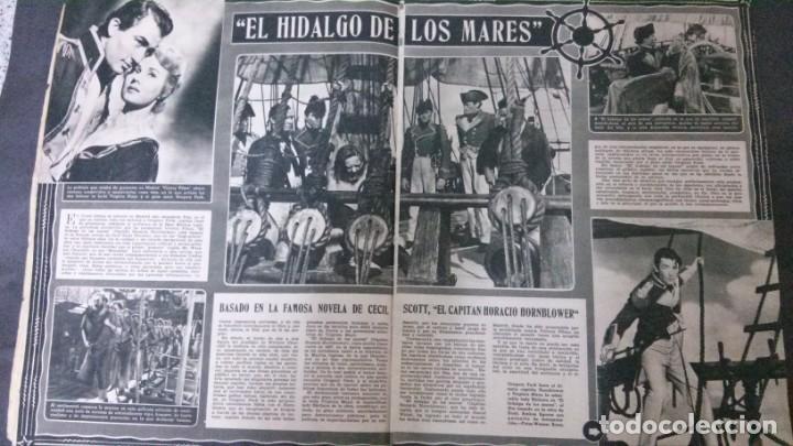 Cine: CINE MUNDO-1954-MARÍA FÉLIX-PIO BAROJA-LOLA FLORES-INDIO FERNÁNDEZ-GREGORY PECK-CLAUDETTE COLBERT - Foto 10 - 150368450