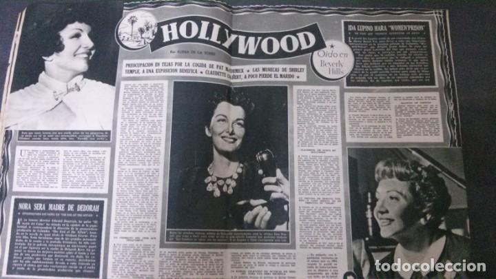 Cine: CINE MUNDO-1954-MARÍA FÉLIX-PIO BAROJA-LOLA FLORES-INDIO FERNÁNDEZ-GREGORY PECK-CLAUDETTE COLBERT - Foto 12 - 150368450