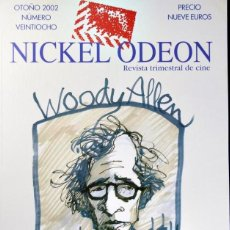 Cine: REVISTA NICKEL ODEON -WOODY ALLEN. Lote 150596842