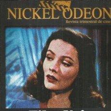 Cine: REVISTA NICKEL ODEON -CINE NEGRO. Lote 150596978