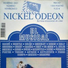 Cine: REVISTA NICKEL ODEON EL MUSICAL. Lote 150597070