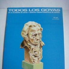 Cine: REVISTAS DE TODOS LOS GOYAS 16 REVISTAS DE CACITEL (#). Lote 150681446