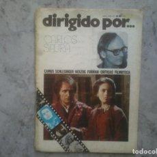 Cine: DIRIGIDO POR 32. ABRIL 1976. CARLOS SAURA HERZOG FORMAN.... Lote 150761238