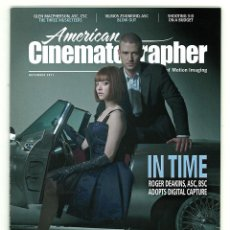 Cine: AMERICAN CINEMATOGRAPHER. VOL. 92. Nº11. NOVEMBER 2011.. Lote 151154842