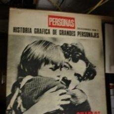 Cine: PERSONAS - CHARLOT HISTORIA GRAFICA. Lote 151158302