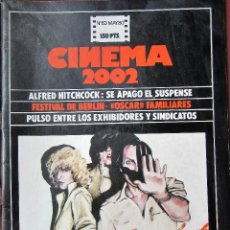 Cine: CINEMA 2002 NÚMERO 63. Lote 151167162