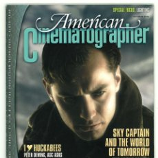 Cine: AMERICAN CINEMATOGRAPHER. VOL. 85. Nº10. OCTOBER 2004.. Lote 151201414