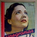 Cine: KAY FRANCIS. REVISTA CINEGRAMAS. AÑO 1935. Lote 151380022