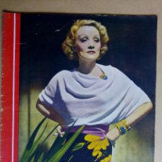 Cine: MARLENE DIETRICH. REVISTA CINEGRAMAS. AÑO 1936. Lote 151381542
