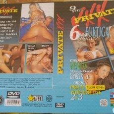 Cine: CARÁTULA ERÓTICA DVD PRIVATE. Lote 151392144
