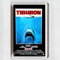 Cine: IMAN ACRÍLICO NEVERA - CINE # TIBURON. Lote 151322254