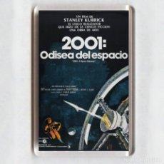 Cine: IMAN ACRÍLICO NEVERA - CINE # 2001 ODISEA DEL ESPACIO. Lote 151322285