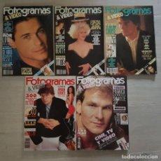 Cine: FOTOGRAMAS AÑO 1990. Lote 151441762