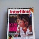 Cine: INTERFILMS N 63 DICIEMBRE 1993. Lote 151516349
