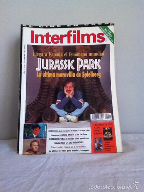 INTERFILMS N 61 OCTUBRE 1993 (Cine - Revistas - Interfilms)