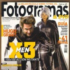 Cine: REVISTA FOTOGRAMAS HUGH GRANT - X3 MEN Nº 1952 JUNIO 2006. Lote 151650566