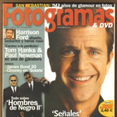 Cine: REVISTA FOTOGRAMAS MEL GIBSON Nº 1907 SEPTIEMBRE 2002. Lote 151650694