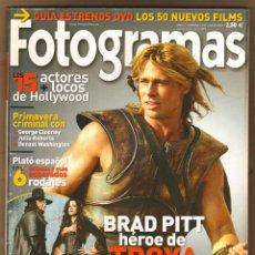 Cine: REVISTA FOTOGRAMAS BRAD PIT - ELENA ANAYA - VAN HELSING Nº1927 MAYO 2004. Lote 151650886