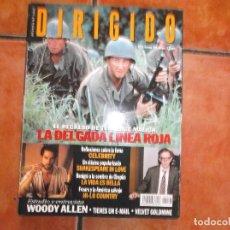 Cine: DIRIGIDO POR Nº 276, ESTUDIO WOODY ALLEN, LA DELGADA LINEA ROJA, CELEBRITY, LA VIDA ES BELLA. Lote 269492988