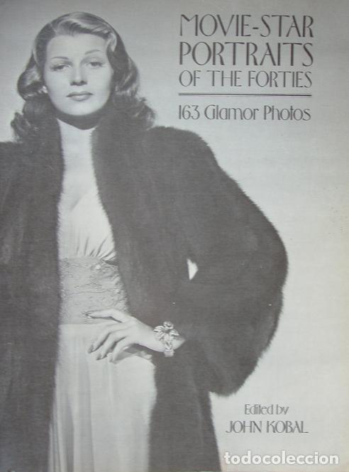 LIBRO CINE MOVIE STAR PORTRAITS OF THE FORTIES 1977, 164 PAGINAS (Cine - Revistas - Colección ídolos del cine)