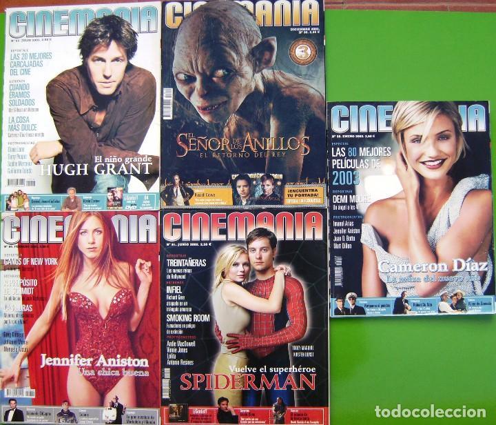 LOTE 5 REVISTAS - CINEMANIA (Cine - Revistas - Cinemanía)
