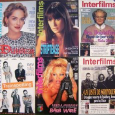 Cinema: LOTE 6 REVISTAS - INTERFILMS. Lote 152060782
