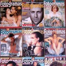Cine: LOTE 9 FOTOGRAMAS 1995. Lote 152060834