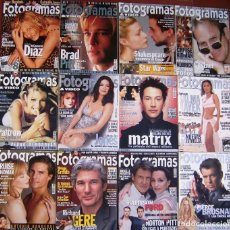 Cine: LOTE 12 FOTOGRAMAS 1999. Lote 152060910