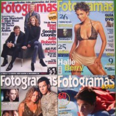 Cine: LOTE 4 FOTOGRAMAS 2001, 2002, 2003, 2006. Lote 152060942