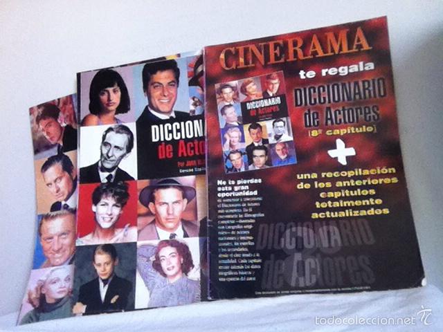 LOTE 17 NÚMEROS. DICCIONARIO DE ACTORES (Cine - Revistas - Cinerama)