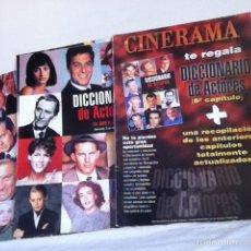 Cine: LOTE 17 NÚMEROS. DICCIONARIO DE ACTORES. Lote 152198977