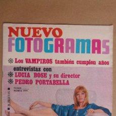 Cine: REVISTA NUEVO FOTOGRAMAS - Nº 1016 - AÑO 1968. MONICA VITTI. MIRAR FOTO ADICIONAL PARA SUMARIO. Lote 179047750