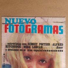 Cine: REVISTA NUEVO FOTOGRAMAS - Nº 1019 - AÑO 1968. MIREILLE DARC. MIRAR FOTO ADICIONAL PARA SUMARIO. Lote 152311766