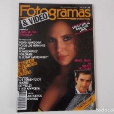 Cine: FOTOGRAMAS Nº 1723 OCT 1986. LAURA DEL SOL, PEDRO ALMODOVAR, TOM CRUISE, IMANOL ARIAS, O. WELLES. Lote 152323254