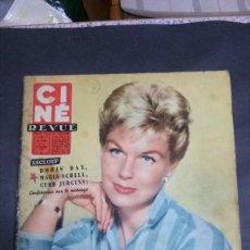 Cine: CINE REVUE-1958-DORIS DAY-MARILYN MONROE-ORFEO NEGRO-FRITZ LANG. Lote 152352030